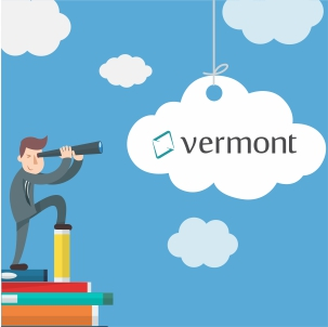 Clear and modern, Vermont has just released its new Home Page
